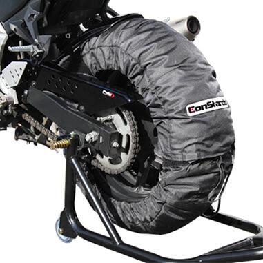 Couverture chauffante pneu moto competition